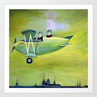 The Flight Art Print