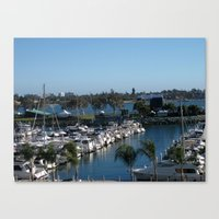 Boats Afloat Canvas Print