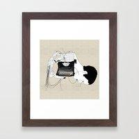 Olivetti Framed Art Print