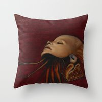 Ascentia Throw Pillow