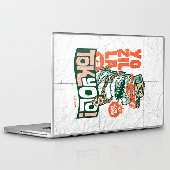 Tokyolo (YOZILLA variant) Laptop & iPad Skin