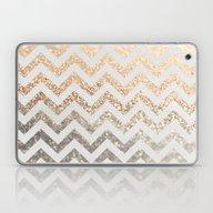 GOLD & SILVER  Laptop & iPad Skin