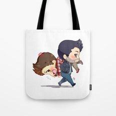 Carry Him Away Tote Bag