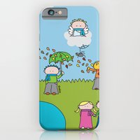 iPhone & iPod Case featuring Fall by oekie