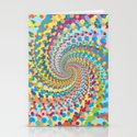 Colour Mix Spiral Stationery Cards