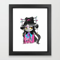 Chibi Luna Framed Art Print