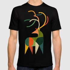 Antler Mens Fitted Tee SMALL Black