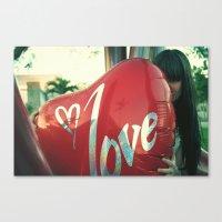 I love you 2 Canvas Print