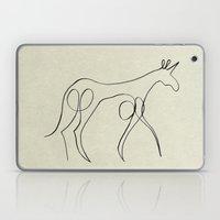 Continuous Line Unicorn Laptop & iPad Skin