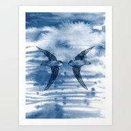 Swift Pair Art Print