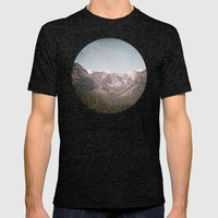 Montana Blues Mens Fitted Tee Tri-Black SMALL