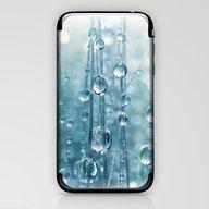 Blue Grass Drops II iPhone & iPod Skin