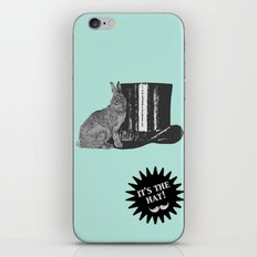 magic rabbit iPhone & iPod Skin