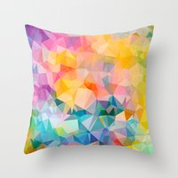 Polygons Throw Pillow