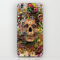 White Noise iPhone & iPod Skin