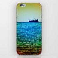 Cargo Ship on the Horizon iPhone & iPod Skin