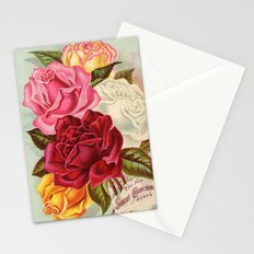 Antique Roses Stationery Cards