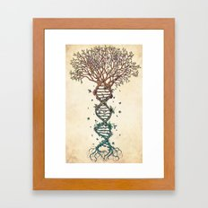 The Fabric of Life (Alternative) Framed Art Print