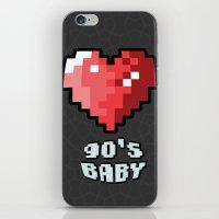 90's Baby iPhone & iPod Skin