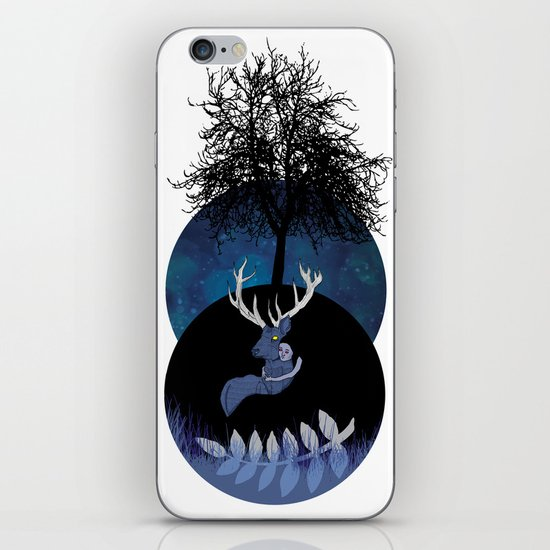Let me go home. iPhone & iPod Skin