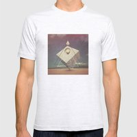 THE BIZARRE VO3 Mens Fitted Tee Ash Grey SMALL