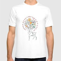 like a halo around your head Mens Fitted Tee White SMALL