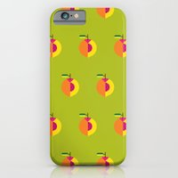 iPhone & iPod Case featuring Fruit: Peach by Christopher Dina
