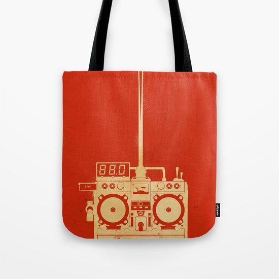 88mph Tote Bag