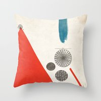 Ratios II. Throw Pillow
