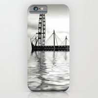 iPhone & iPod Case featuring Watery eye (London eye) by Shalisa Photography