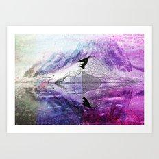 Mirrorself Art Print