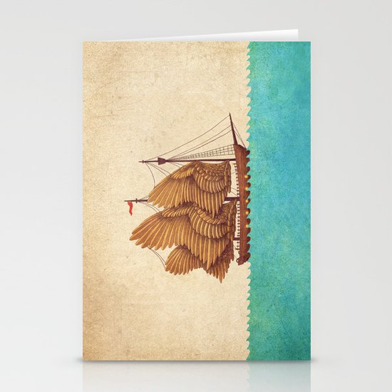 Winged Odyssey Stationery Card