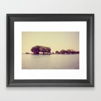 These Are The Days Framed Art Print