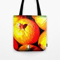 Pumpkin Love Tote Bag