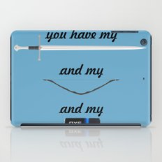 You Have - Lord of The Rings iPad Case