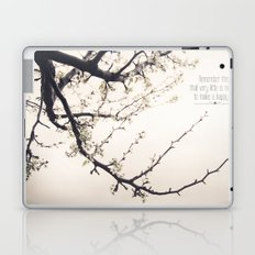 Happy Life Laptop & iPad Skin