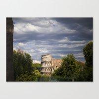 The Roman Colosseum  Canvas Print