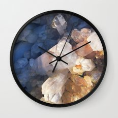 Quartz Crystal Wall Clock