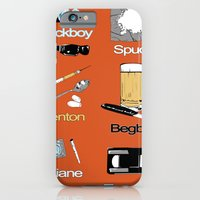 Trainspotting vector iPhone 6 Slim Case