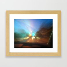 Untitled Road trip Framed Art Print