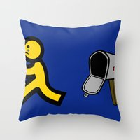 No Mail! Throw Pillow
