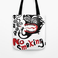 No Smoking - Monster Tote Bag