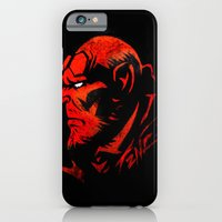 iPhone & iPod Case featuring Hell Boy by squadcore