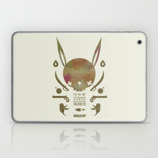 토끼해적단 TOKKI PIRATES Laptop & iPad Skin