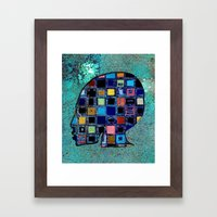 Living In A Box (global)… Framed Art Print
