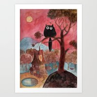 magic house Art Print