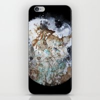 Excerpt / Curacao Coffee on Canvas iPhone & iPod Skin