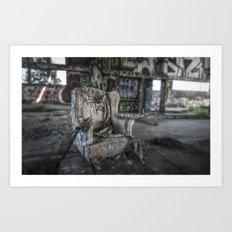 Throne of Man Art Print
