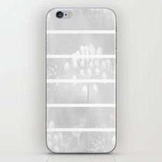 Grey And White iPhone & iPod Skin