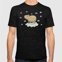 Capy In The Sky With Dia… Mens Fitted Tee Tri-Black SMALL